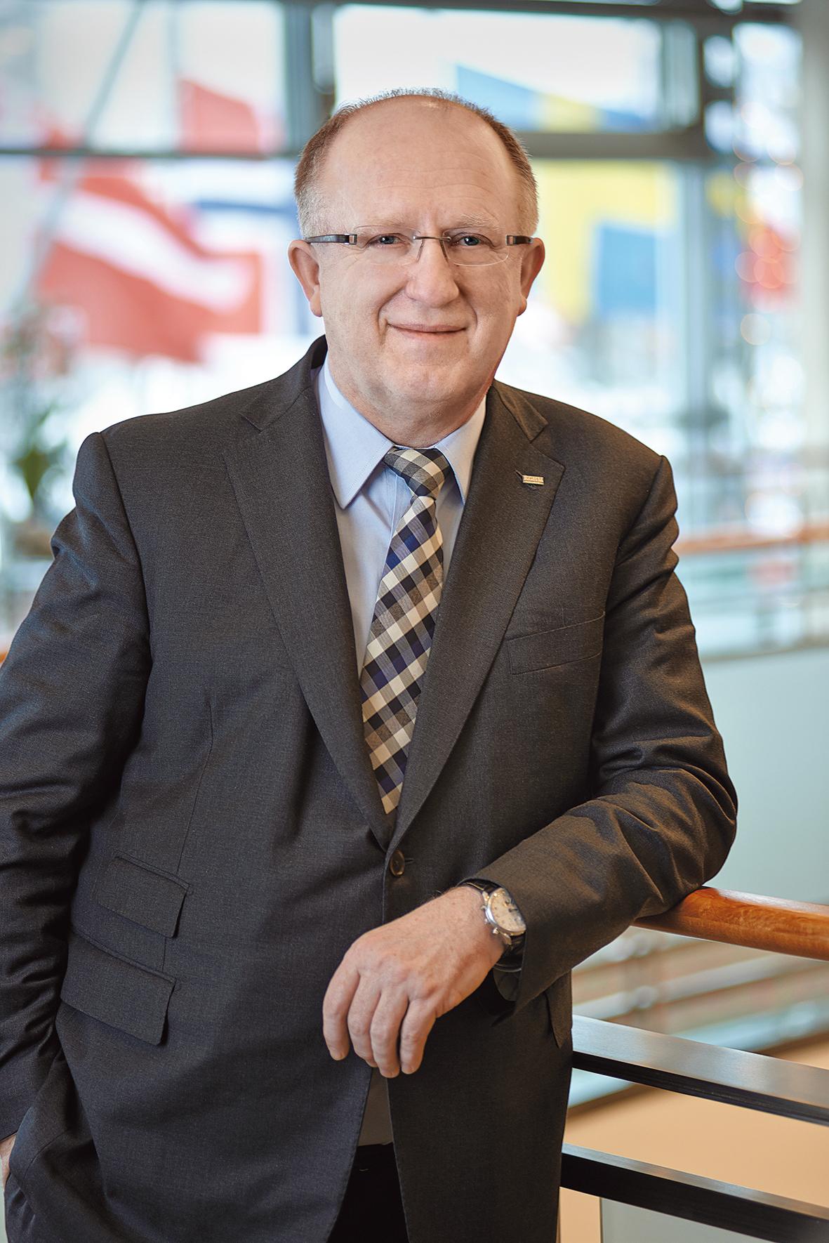 Prezes Herbert Wirth